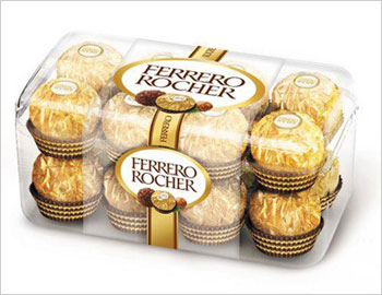 Box of Ferrero Rocher (16 pcs.)