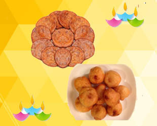 Ariselu with Boorelu: Send these traditional Andhra special sweets (combo)Ariselu -250 gms and Boorelu -250gms prepared during festivals.