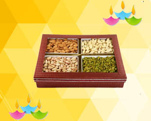 Dry Fruits (400 gms): A Box of Mixed Dry Fruits - approx 400gms