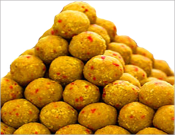 Laddu; The universal choice of many when it comes to looking for  something sweet. Motichoor ladoos - a sure pearl way to win every heart.