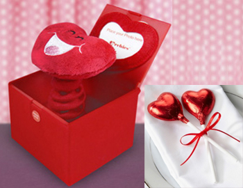 Pop-up Musical Surprise Box with Chocolates: Gift this combination of Pop-up Musical Box and two heart-shaped lollipops. Make sure your special someone remembers you every time when she/ he opens this surprise love box. Every time the box is opened, a heart pops out to say I love you which will make for a unique surprise for your beloved.